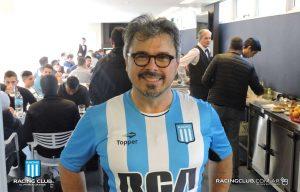 Donato de Santis hincha de Racing 3