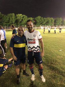 Nicolas Goransky hincha de Boca 2