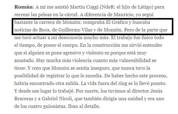 Jorge Roman hincha de Boca Juniors