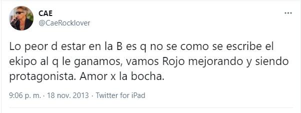 Cae hincha de Independiente 1
