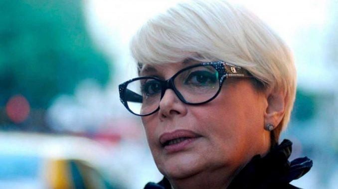 Carmen Barbieri hincha de Huracan PP