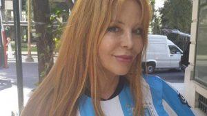 Graciela Alfano hincha de Racing 4