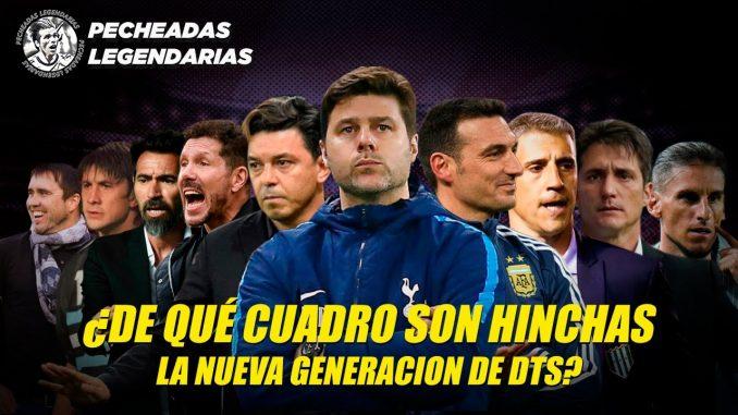 Eshinchade - De que cuadro son los entrenadores del futbol argentino