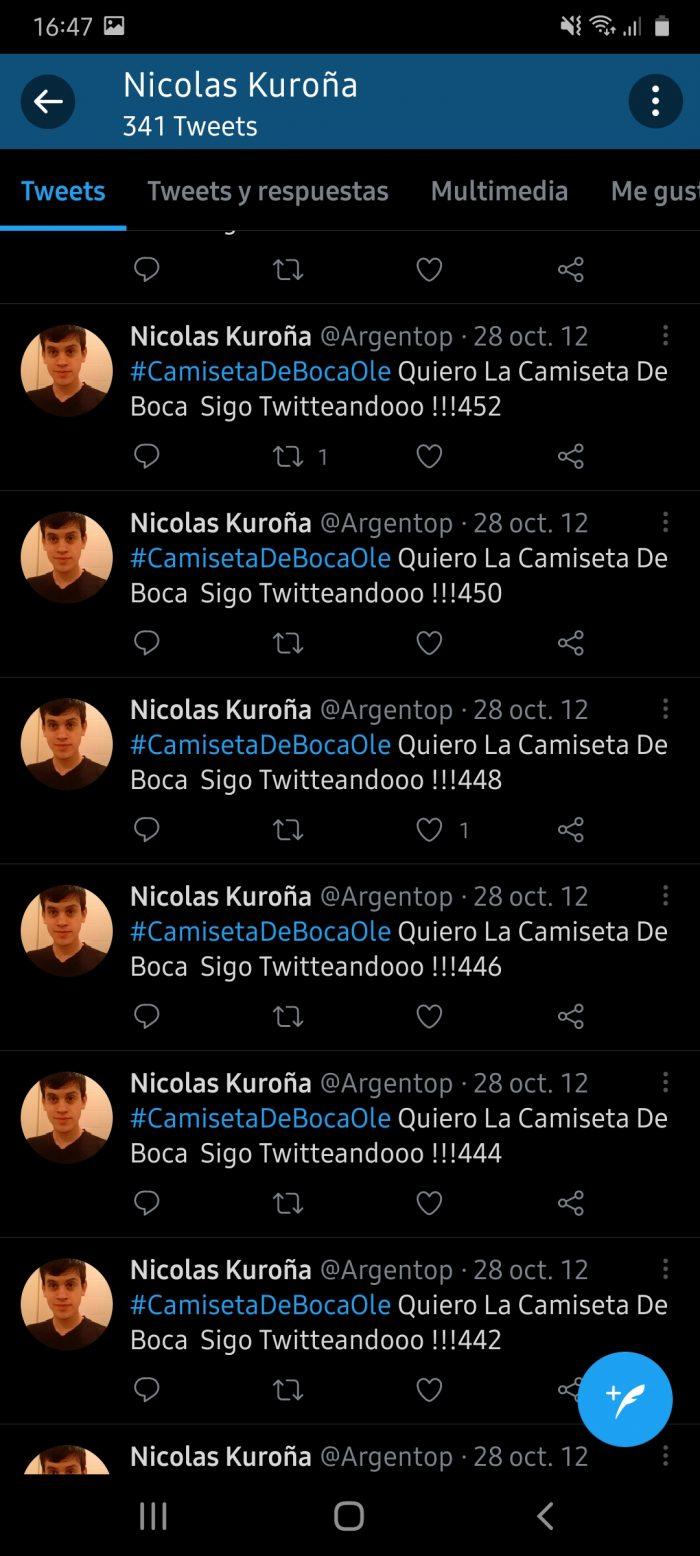 Nicolas Kuroña hincha de Boca 2