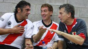 Diego Santilli hincha de River 2