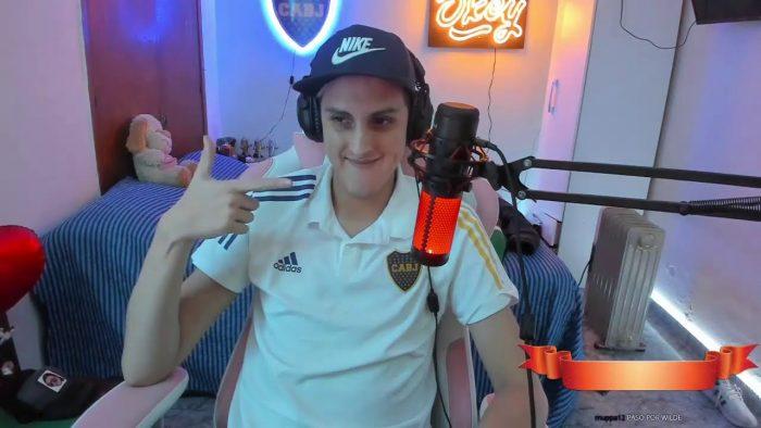 Joaco Lopez hincha de Boca 2