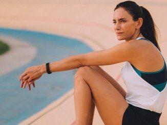 Luciana Aymar hincha de