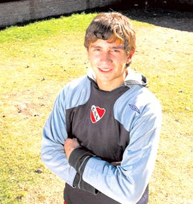 Emiliano Martinez hincha de Independiente 2