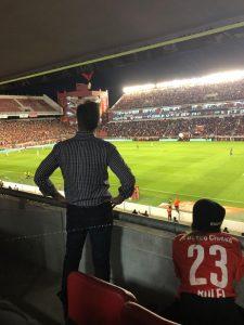 Martin Redrado hincha de Independiente 2
