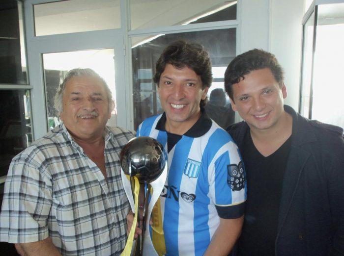 Sergio Gonal hincha de Racing 1