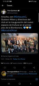 Ariel Staltari hincha de Boca 2