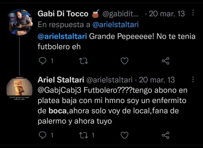 Ariel Staltari hincha de Boca 5