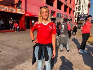 Delfina Pignatiello hincha de Independiente 3