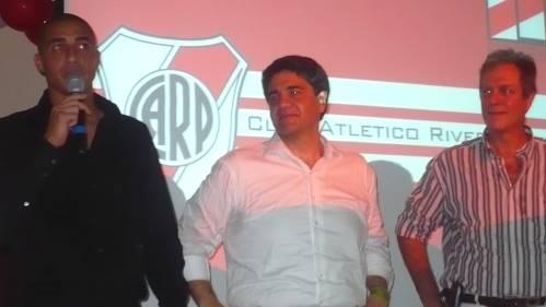 Jorge Macri hincha de River 2