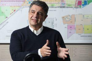 Jorge Macri hincha de River 2021