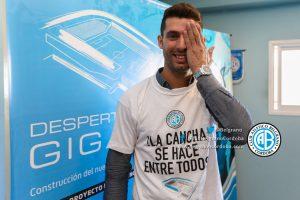 Pechito Lopez hincha de Belgrano 2