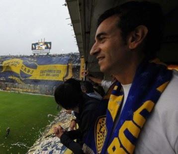 Florencio Randazzo hincha de Boca 1