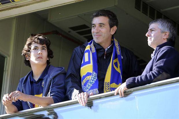 Florencio Randazzo hincha de Boca 2
