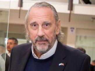 Guillermo Marconi hincha de